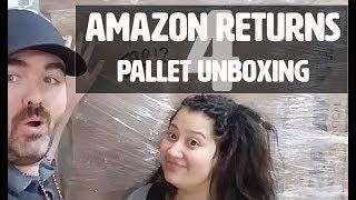Amazon Customer Return Pallets / Unboxing Amazon Returns Mystery Pallet