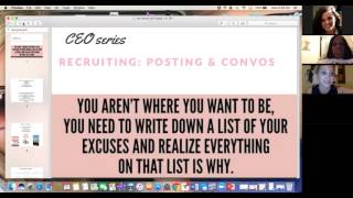Recruiting School With Jen Guthrie:  CEO SERIES