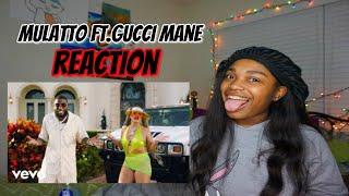 Mulatto - Muwop (Official Video) ft. Gucci Mane REACTION !
