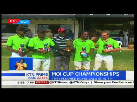 Safaricom polo team wins during the Moi cup championships