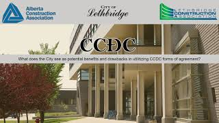 Alberta Construction Association – CCDC and the City of Lethbridge