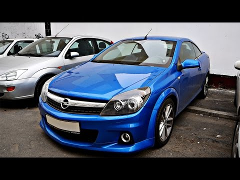 OPEL ASTRA H TWINTOP OPC LA REVIEW ! - Vlog 488