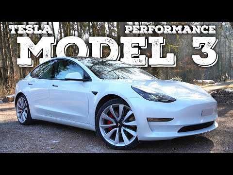 New Tesla Model 3 Performance Facelift 2021