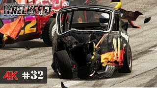 THIS CAR is STILL ALIVE - Wreckfest Onboard 4K - UNLIMITED BANGERS Event - WORLD MASTERS Series #32
