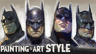 Painting & Art Style - With Batman