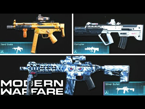 Modern Warfare: The 10 BEST Weapon Blueprints To Use