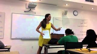 Organizing and Writing an Informative Speech Topic/Thesis