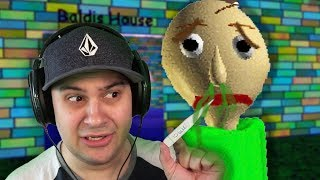 Baldi is sick... (And I have to take care of him?) | Baldi's Basics