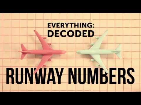What The Numbers At The End Of Runways Actually Mean