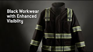 Black Reflective Workwear
