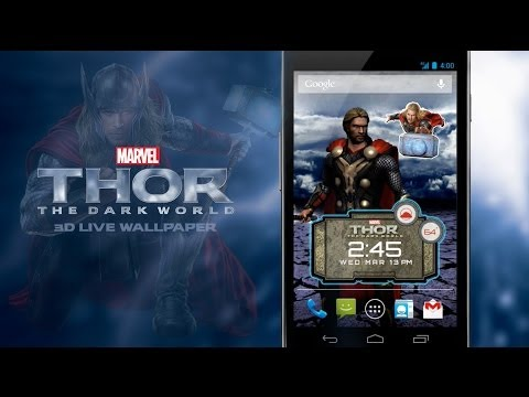 Video of Thor: The Dark World LWP