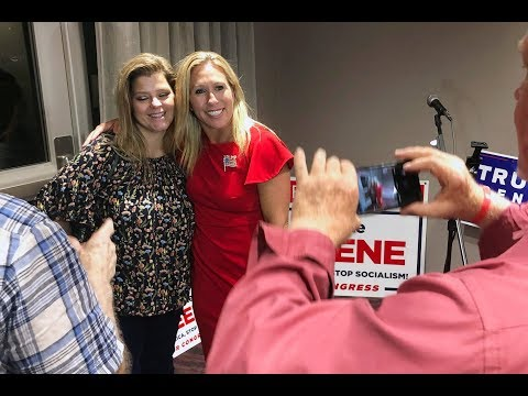 Marjorie Taylor Greene, Trump's Favorite QAnon Candidate, Wins Georgia Primary