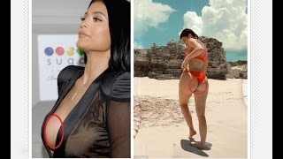 Kylie Jenner Oops MomentsCatch In Beach
