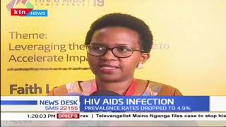 HIV/AIDs Infection: Prevalence rates dropped to 4.9%
