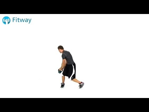 How To Do: Kettlebell Woodchopper | Ab Workout Exercise