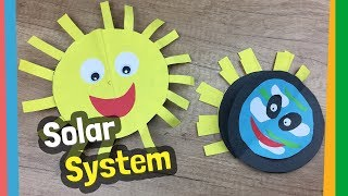 Solar System DIY Project For Kids | Easy And Educational Craft Idea