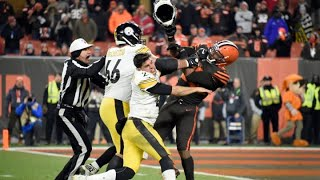 Watch NFL fight that could lead to massive fines for Cleveland Browns