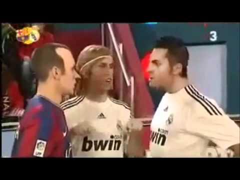 Crackovia - Iniesta VS C.Ronaldo! So Funny! (FC Barcelona VS Real Madrid)