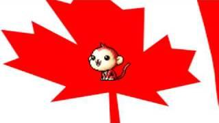 RandomMapleStory-Monkey Sings The War Of 1812 Song