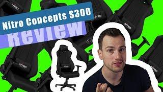 Gamingchairs, Geldmacherei oder jeden Cent wert? Der Nitro Concepts S300 im Test