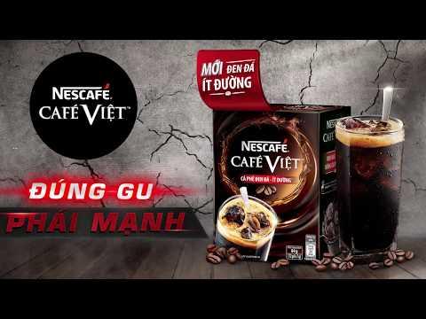 NESCAFÉ CAFÉ VIỆT - Café Việt Đen Đá Ít Đường