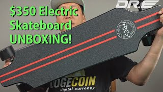 $350 Electric Skateboard UNBOXING! [Hiboy S22]