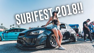 TAKING MY WRX TO THE BIGGEST SUBARU CAR SHOW IN SOCAL! *Subifest 2018*