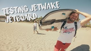 Jetwake Review - Jet wake B200 Jetboard from Korea