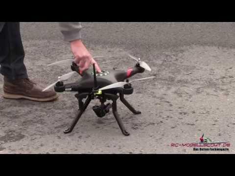 Video zum Testbericht des FPV Set für den Thunder Tiger Ghost Quadrocopter