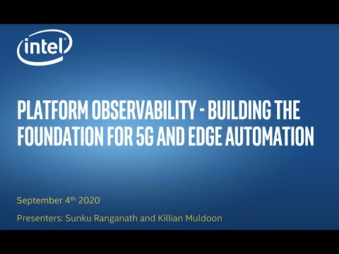 Platform observability – building the foundation for 5G and edge automation