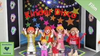 Playmobil Film Deutsch KINDER DISCO 🎊 🎶 ✨ ♡ Playmobil Geschichten Mit Familie Miller