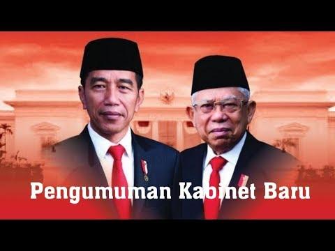 Pengumuman Kabinet Baru 2019- 2024