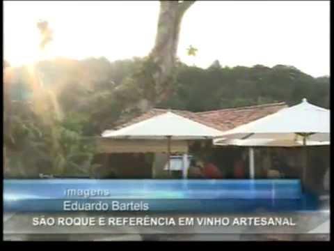 Dia do Vinho - Vinícolas em São Roque são destaques - SBT