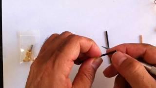 Clover Leaf CL Antenna Build for 5.8Ghz FPV Model Aircraft Video transmitter R/C IBCrazy DIY