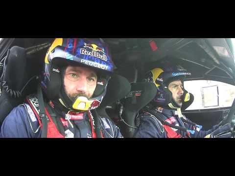 In the eyes of Team Peugeot Total
