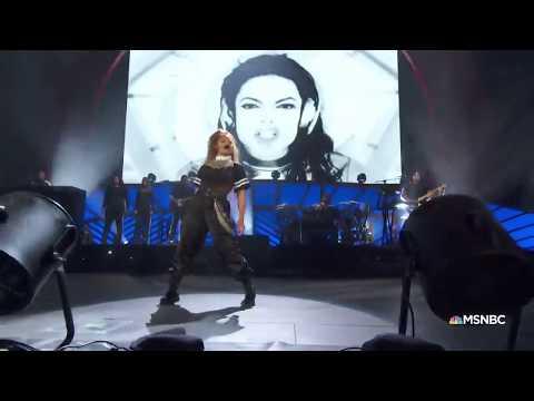 "Janet Jackson pays tribute to Michael Jackson (""Scream"", Global Citizen Festival 2018)"