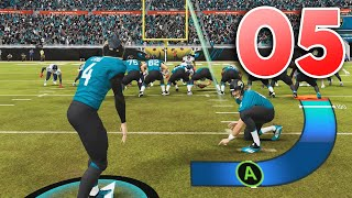 Madden 22 Face of the Franchise - Part 5 - CRAZY NEW KICKING FEATURE