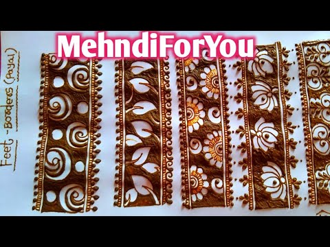 easy to use bangle mehndi design patterns by mehndi for you