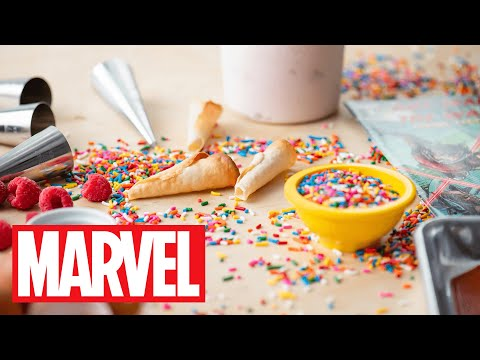 Ant-Man's Tiny Ice Cream Cones | Marvel Eat the Universe