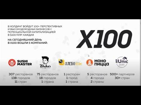 Алекс Яновский коротко о бизнесе и о стратегии холдинга Х100