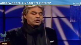 "Andrea Bocelli in ""Adeste fideles"""