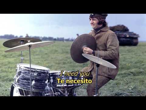 I need you - The Beatles (LYRICS/LETRA) [Original] [No chorus]