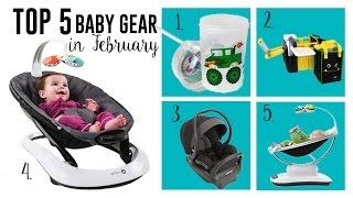 Top 5 Baby Gear in February