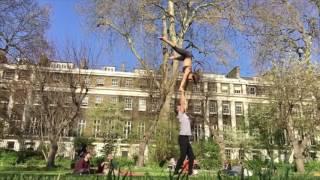 Jump to High Hand to Hand. Sports Acro Tari Mannello & Sylvia Garvia