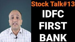 IDFC First Bank Technical Opinion - Stock Talk with Nitin Bhatia #13 (Hindi)