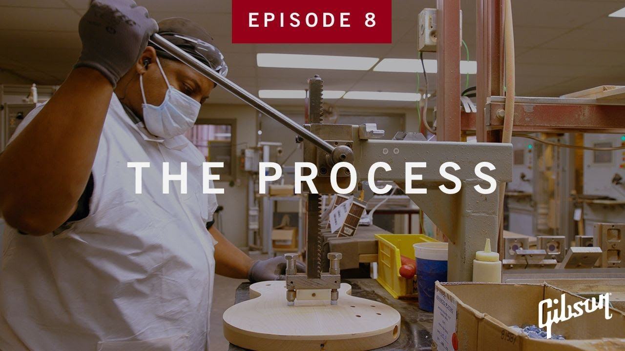 The Process: Episode 8 - Fret Leveling In The Plek Room At Gibson USA