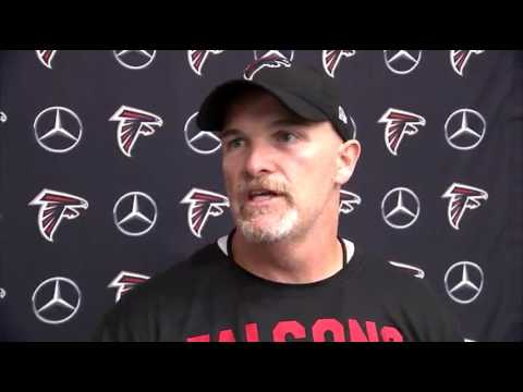 Falcons prepare to open preseason Thursday night in Miami