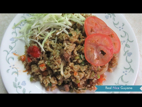 Guyana Chicken Fried Rice Video Recipe ( HD)