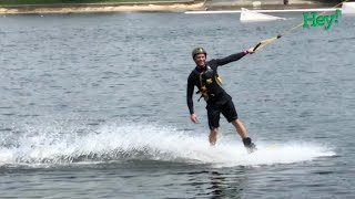 Profs in the fast lane – Wakeboarding is his passion