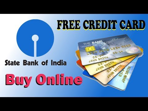 Apply FREE credit card online instant approval / State Bank Virtual Card Personal Banking